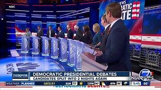 Round 2 of Democratic Presidential Debates