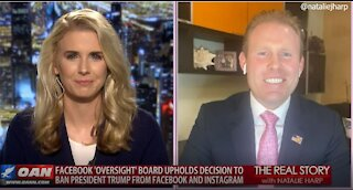 The Real Story - OANN Trump Banned from Facebook with Andrew Giuliani
