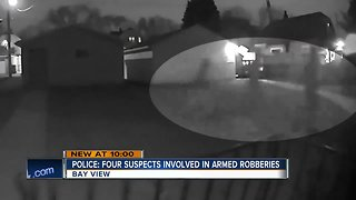 Bay View crime spree suspects on the loose