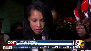 Tracie Hunter released from jail: 'I am still here.'