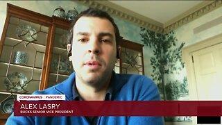 Milwaukee Bucks SVP Alex Lasry: If you want the Bucks to win the NBA Championship, 'stay inside'