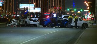Traffic Update: Parts of Las Vegas Boulevard remain closed after deadly crash