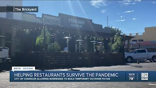 Chandler restaurants expanding patios to help survive the pandemic
