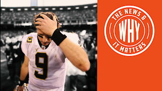 NFL Star Drew Brees KNEELS to the Outrage Mob in Record Time! | Ep 549