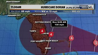 3:15 Thursday Hurricane Dorian Update