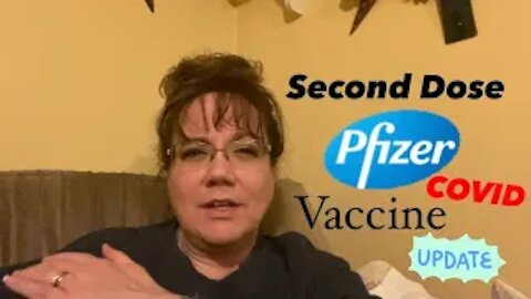 Melinda's second Pfizer Covid-19 Vaccine Injection