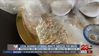 Local business offering remote services for Brides