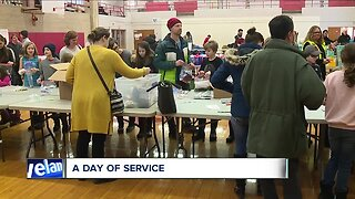 Shaker Heights students give back on MLK Day