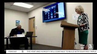 Douglas County Health Director Dr. Adi Pour delivers last report
