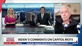 Biden's Comments on Capitol Riots