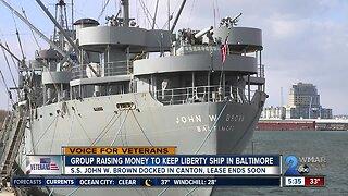 Group raising money to keep Liberty Ship in Baltimore