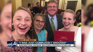 Wauwatosa woman becomes Rhodes Scholar