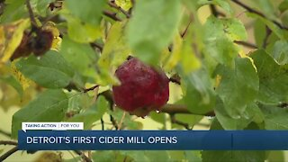 Detroit's first cider mill opens