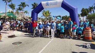 'Autism Speaks Walk' in West Palm Beach