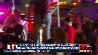 Protest held for Breonna Taylor in downtown Bakersfield