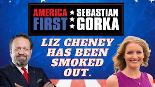 Liz Cheney has been smoked out. Jenna Ellis with Sebastian Gorka on AMERICA First