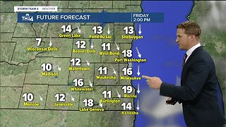 Scattered rain, snow showers expected for Thursday - Noon Update
