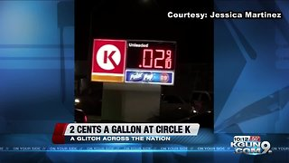 2 cents a gallon at Circle K