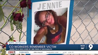 Co-workers remember victim as caring and positive