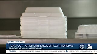 Foam Container Ban