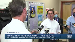 Should teachers be fined for what they think?