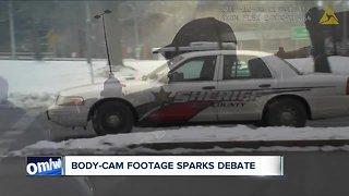 Body-cam footage sparks debate