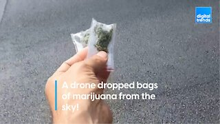 Drone Drops Weed on Israel