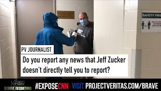 Project Veritas Confronts CNN'S Brian Stelter