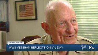 Vet remembers V-J Day on 75th anniversary