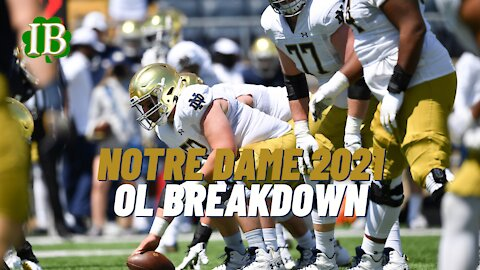 Notre Dame Offensive Line Holds The Key To Success For The Irish In 2021