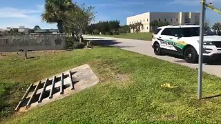 Dead body found outside Charlotte County Jail visitation building