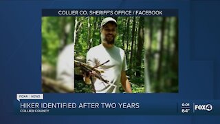 Hiker identified after two years