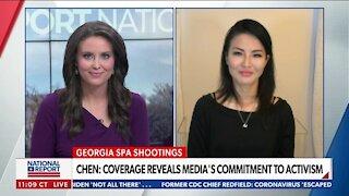 Asian-American writer critiques media coverage of Atlanta shooting