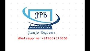 Java free online training