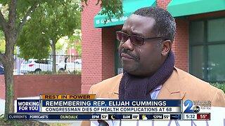 Neighbors, residents react to death of Rep. Elijah Cummings