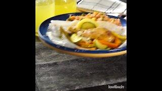 Lemon Wallpaper Chicken