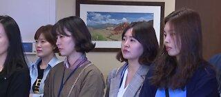 Doctors from S. Korea tour Las Vegas hospital