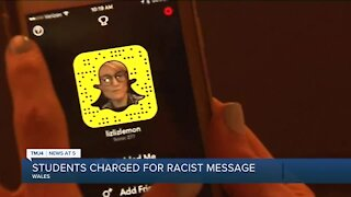 Kettle Moraine student charged with sending racist messages