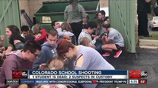 Two suspects in custody after deadly Colorado school shooting