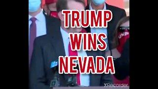 TRUMP WINS NEVADA!