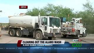Work along Alamo Wash begins Monday