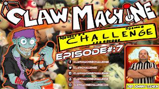 Claw Machine Challenge Ep #7 Featuring Johnny Rankin