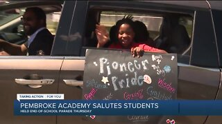 Pembroke Academy salutes students on last day of school