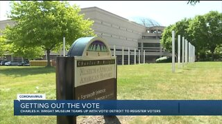 Charles H. Wright Museum helping to register voters