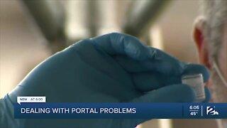 Senior citizens struggle with state vaccine portal
