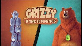 Grizzy, l'ours polaire et la guerre des glaçons