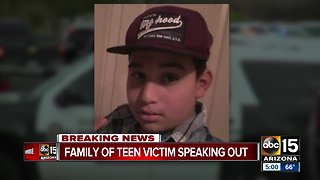Family of 14-year-old shot and killed by Tempe police speaks to ABC15