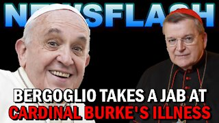 NEWSFLASH: Pope Francis Takes a Shot at Cardinal Burke!