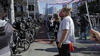 Seattle Police And Protesters Injured At Black Lives Matter Protest