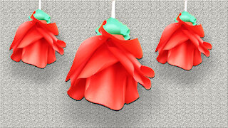 Paper rose Craft - Easy and Beautiful Paper Flower Rose Making - DIY Flowers